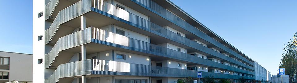 Neubau einer Wohnanlage in Astrid-Lindgren-Str. in München-Riem